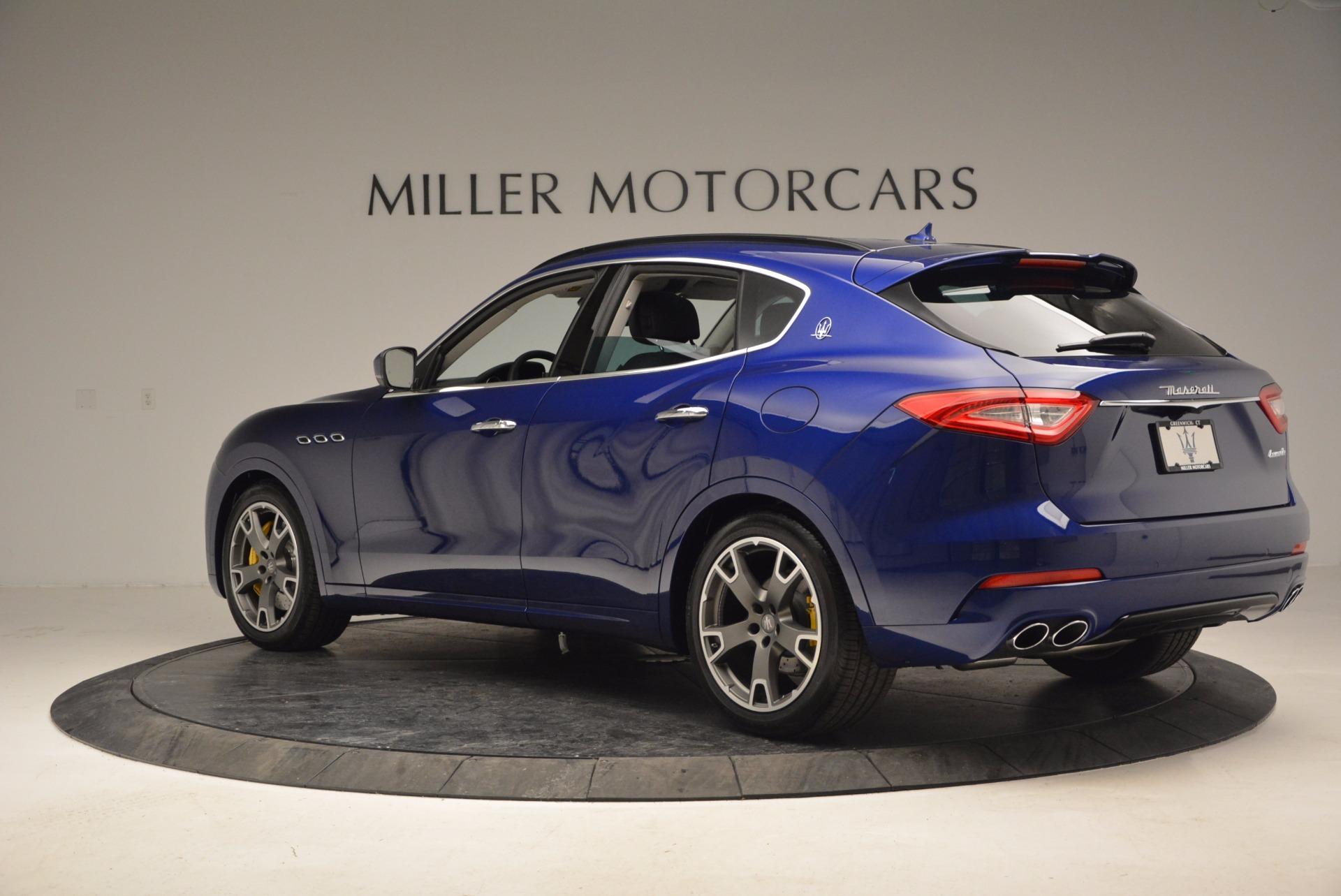 New 2017 Maserati Levante S For Sale In Westport, CT 949_p4