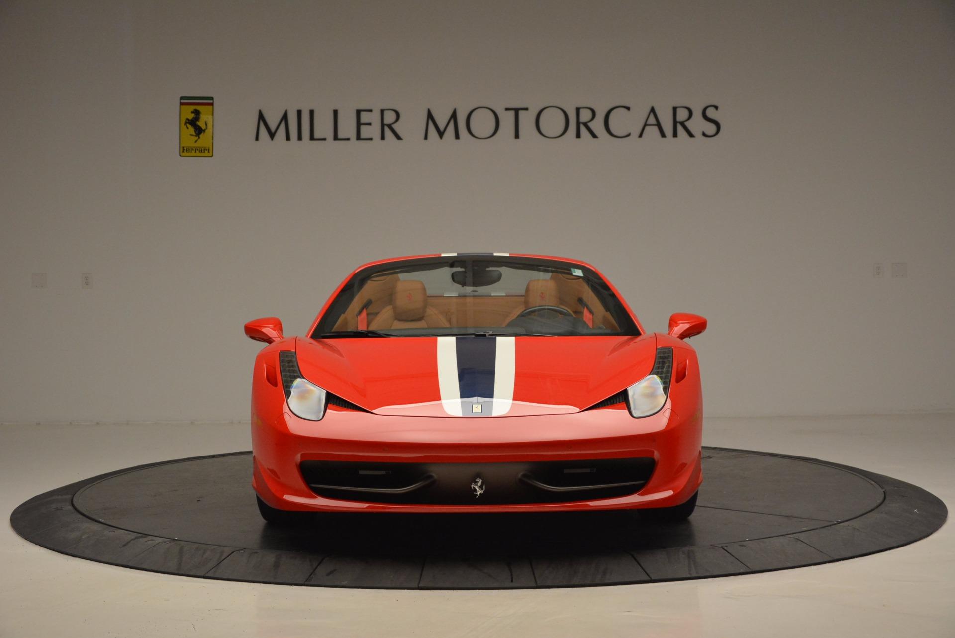 Used 2014 Ferrari 458 Spider  For Sale In Westport, CT 952_p12