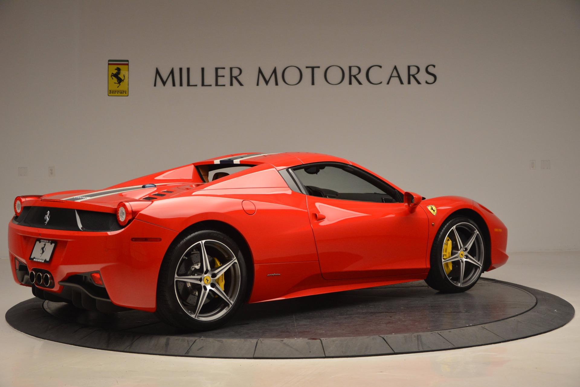Used 2014 Ferrari 458 Spider  For Sale In Westport, CT 952_p20