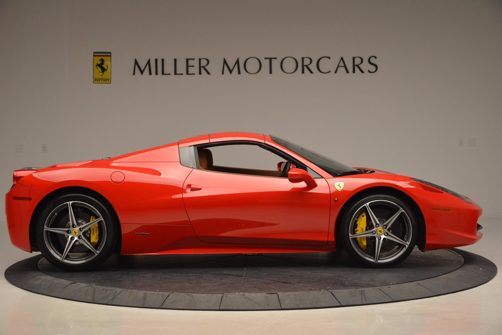 Used 2014 Ferrari 458 Spider  For Sale In Westport, CT 952_p21
