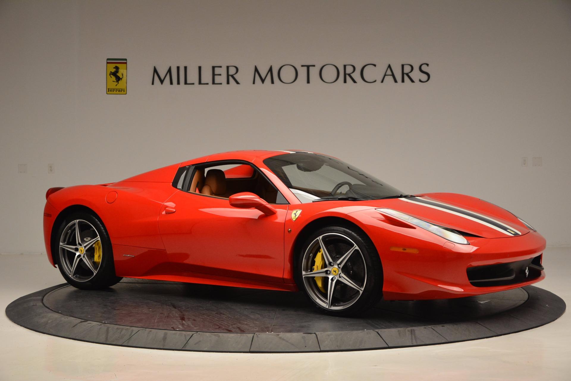 Used 2014 Ferrari 458 Spider  For Sale In Westport, CT 952_p22