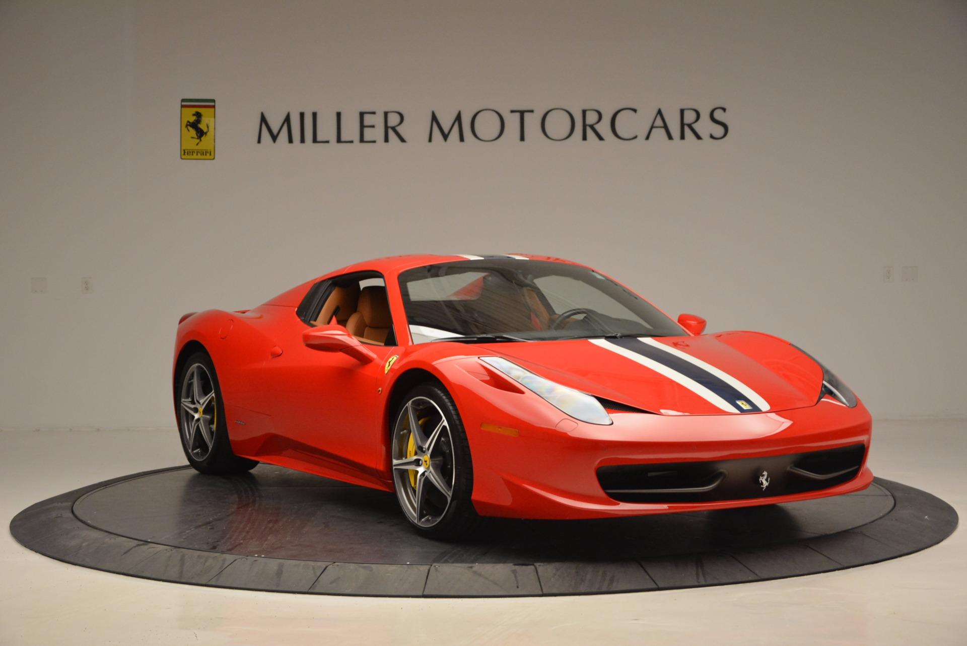 Used 2014 Ferrari 458 Spider  For Sale In Westport, CT 952_p23