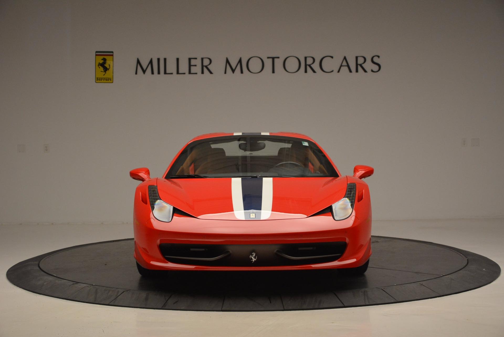 Used 2014 Ferrari 458 Spider  For Sale In Westport, CT 952_p24