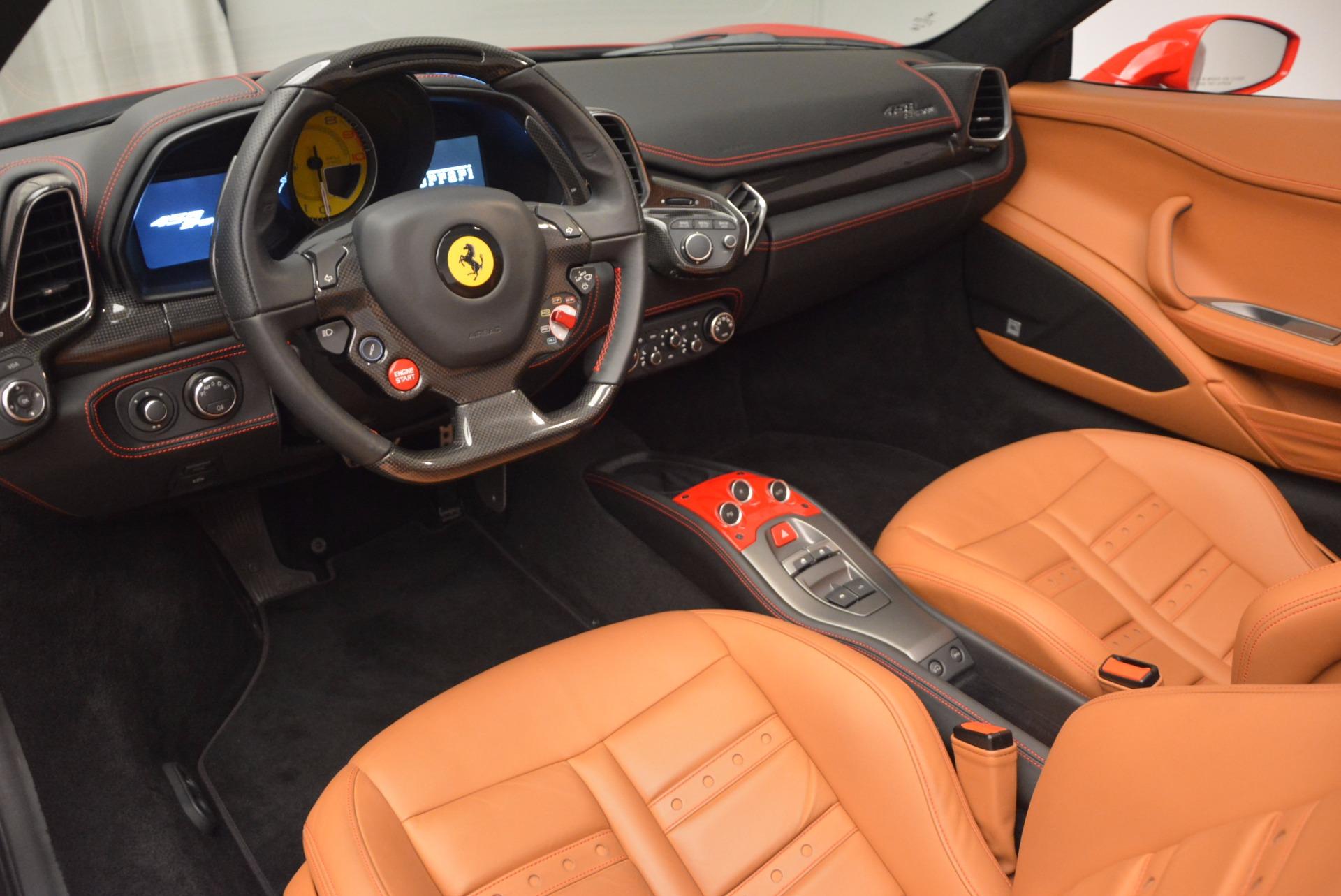 Used 2014 Ferrari 458 Spider  For Sale In Westport, CT 952_p25