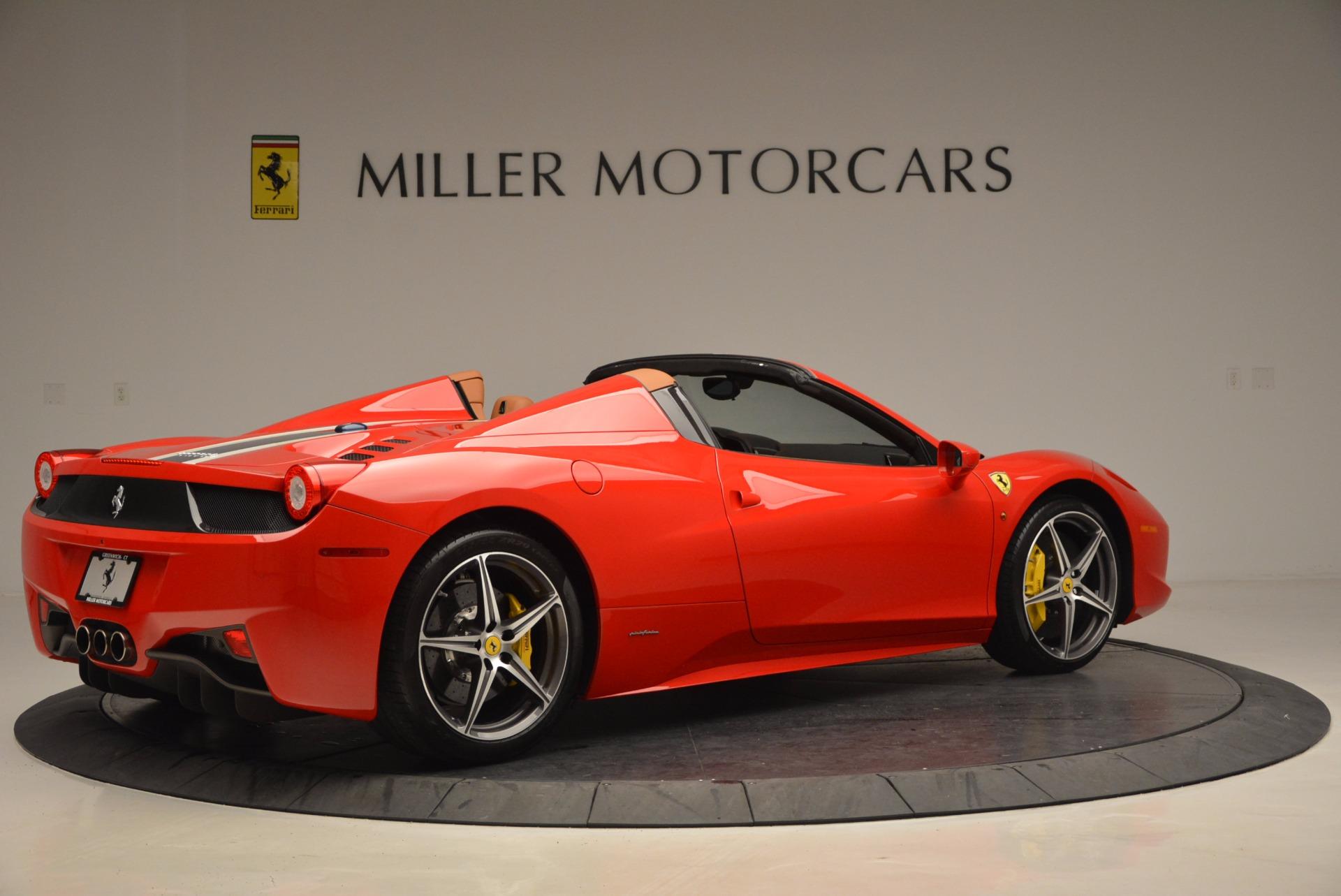 Used 2014 Ferrari 458 Spider  For Sale In Westport, CT 952_p8