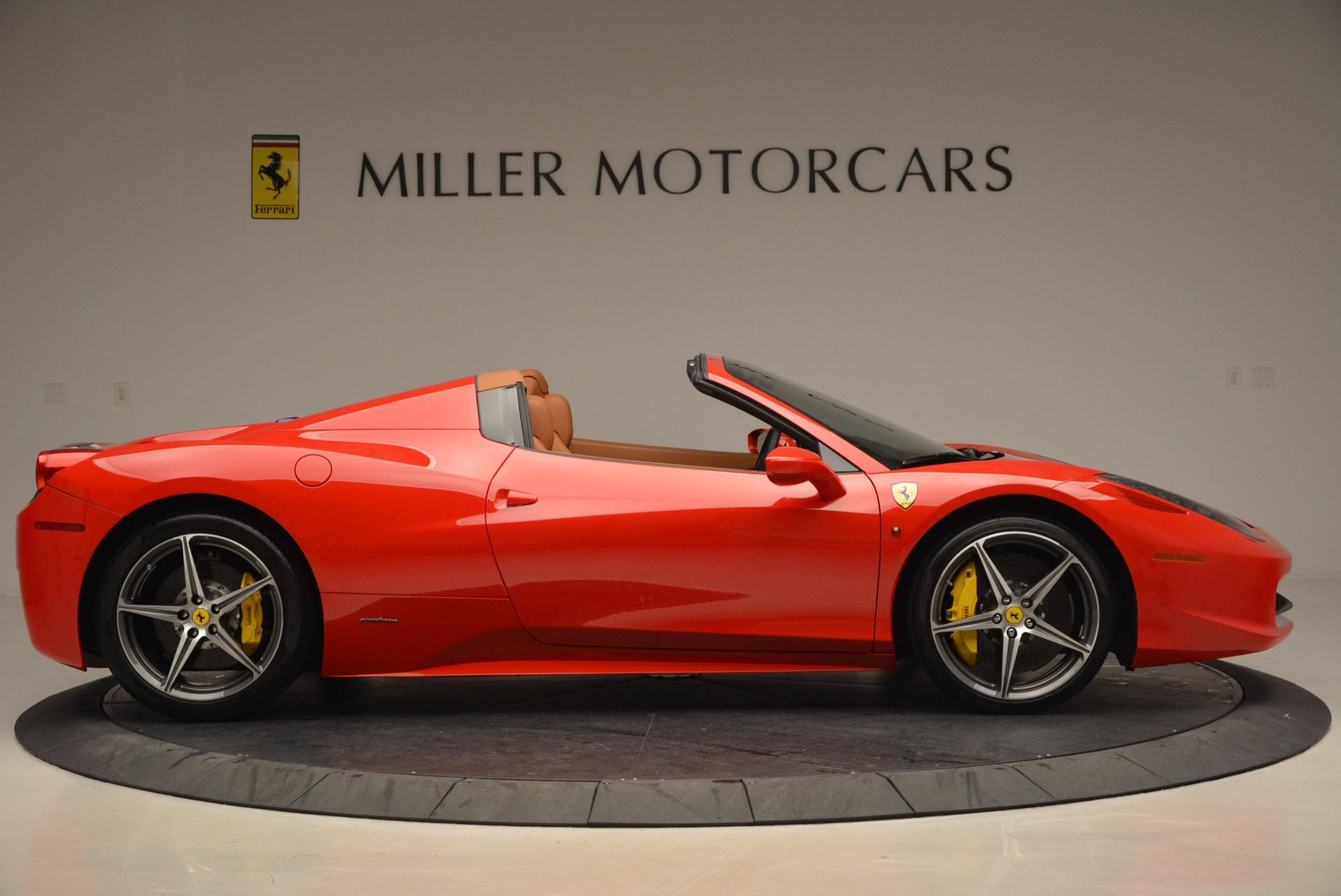 Used 2014 Ferrari 458 Spider  For Sale In Westport, CT 952_p9