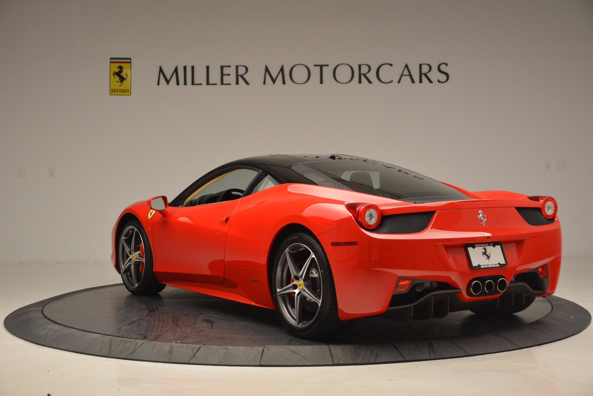 Used 2011 Ferrari 458 Italia  For Sale In Westport, CT 953_p5