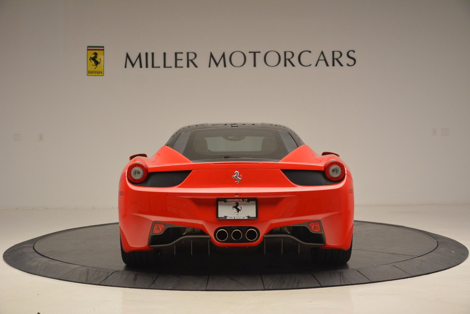 Used 2011 Ferrari 458 Italia  For Sale In Westport, CT 953_p6