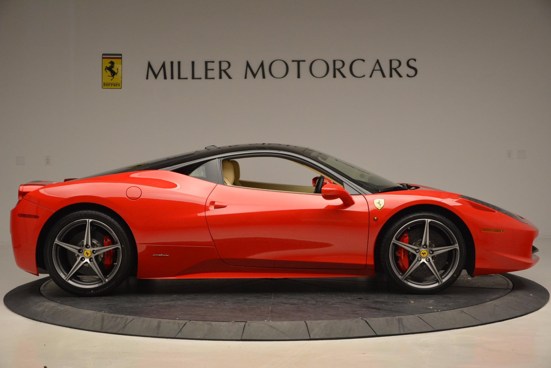 Used 2011 Ferrari 458 Italia  For Sale In Westport, CT 953_p9