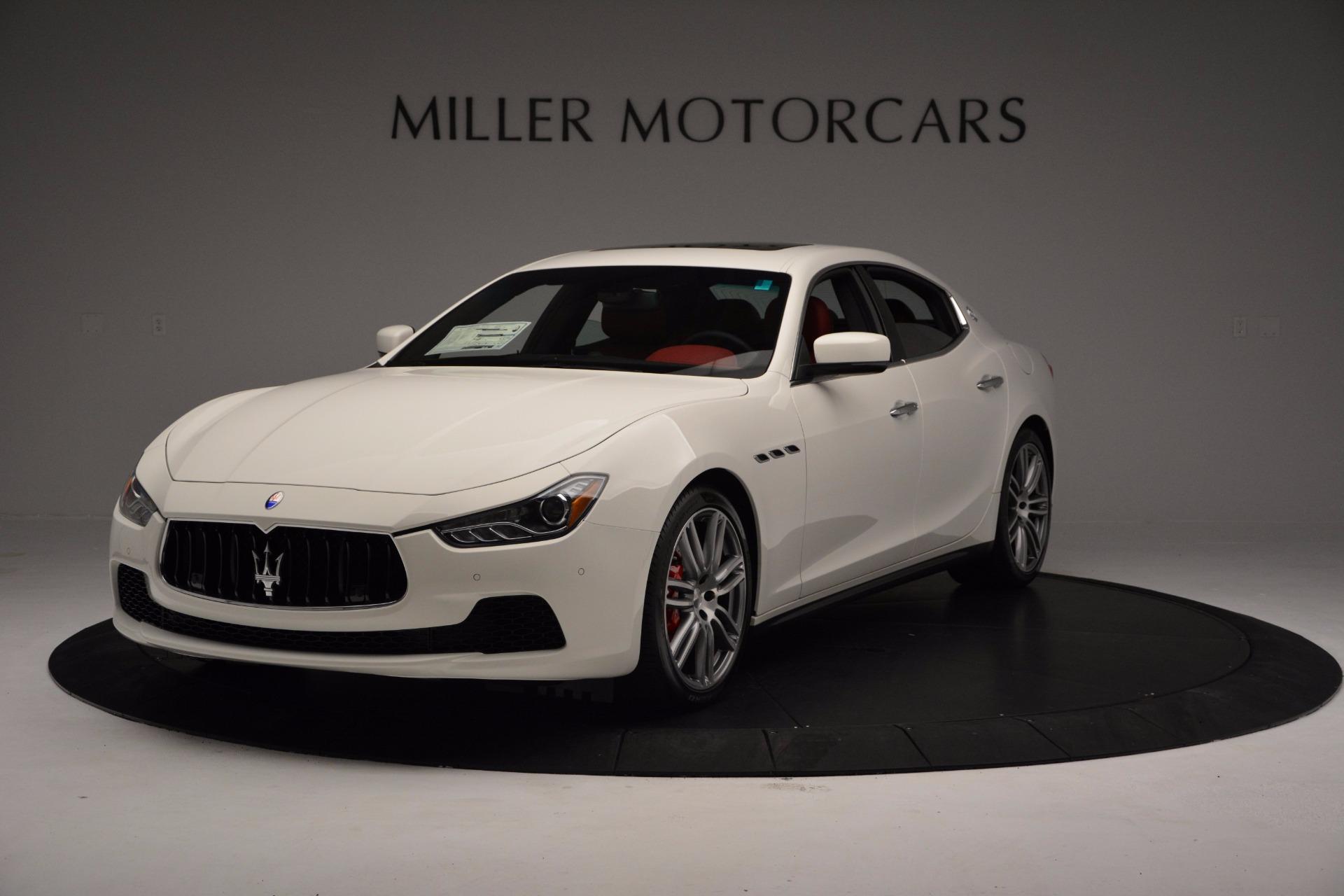 New 2017 Maserati Ghibli SQ4 For Sale In Westport, CT 962_main