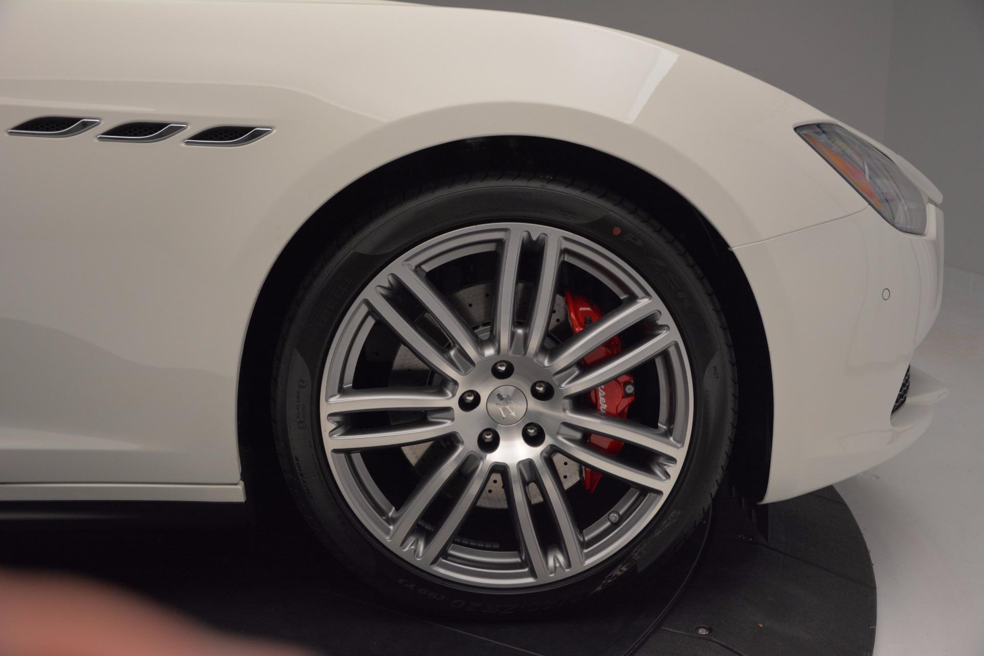 New 2017 Maserati Ghibli SQ4 For Sale In Westport, CT 962_p13