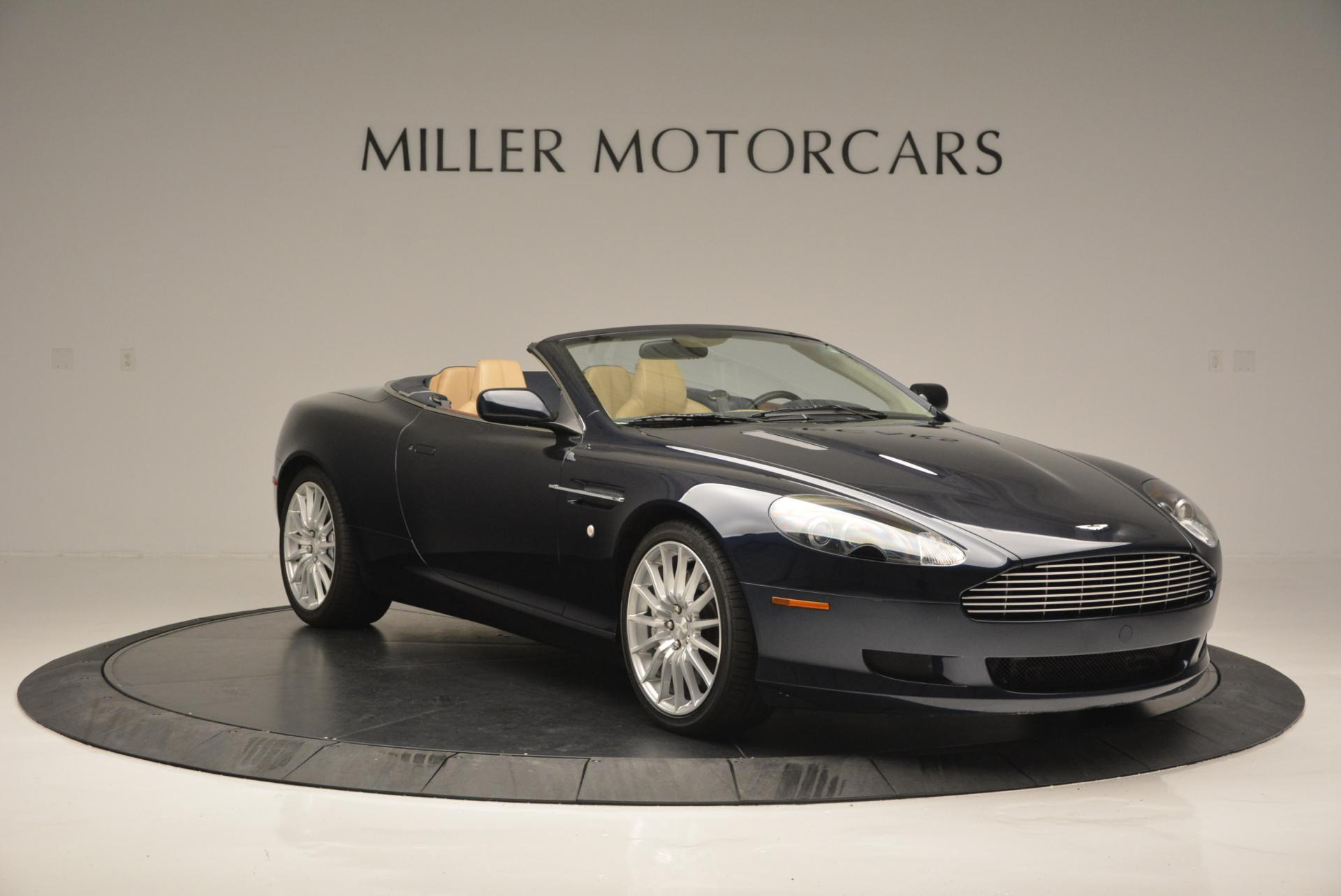 Used 2007 Aston Martin DB9 Volante For Sale In Westport, CT 97_p11