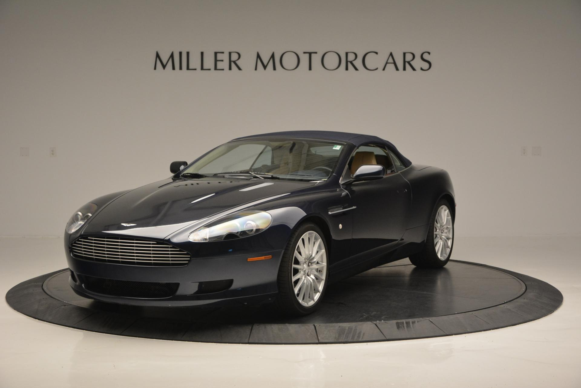 Used 2007 Aston Martin DB9 Volante For Sale In Westport, CT 97_p13