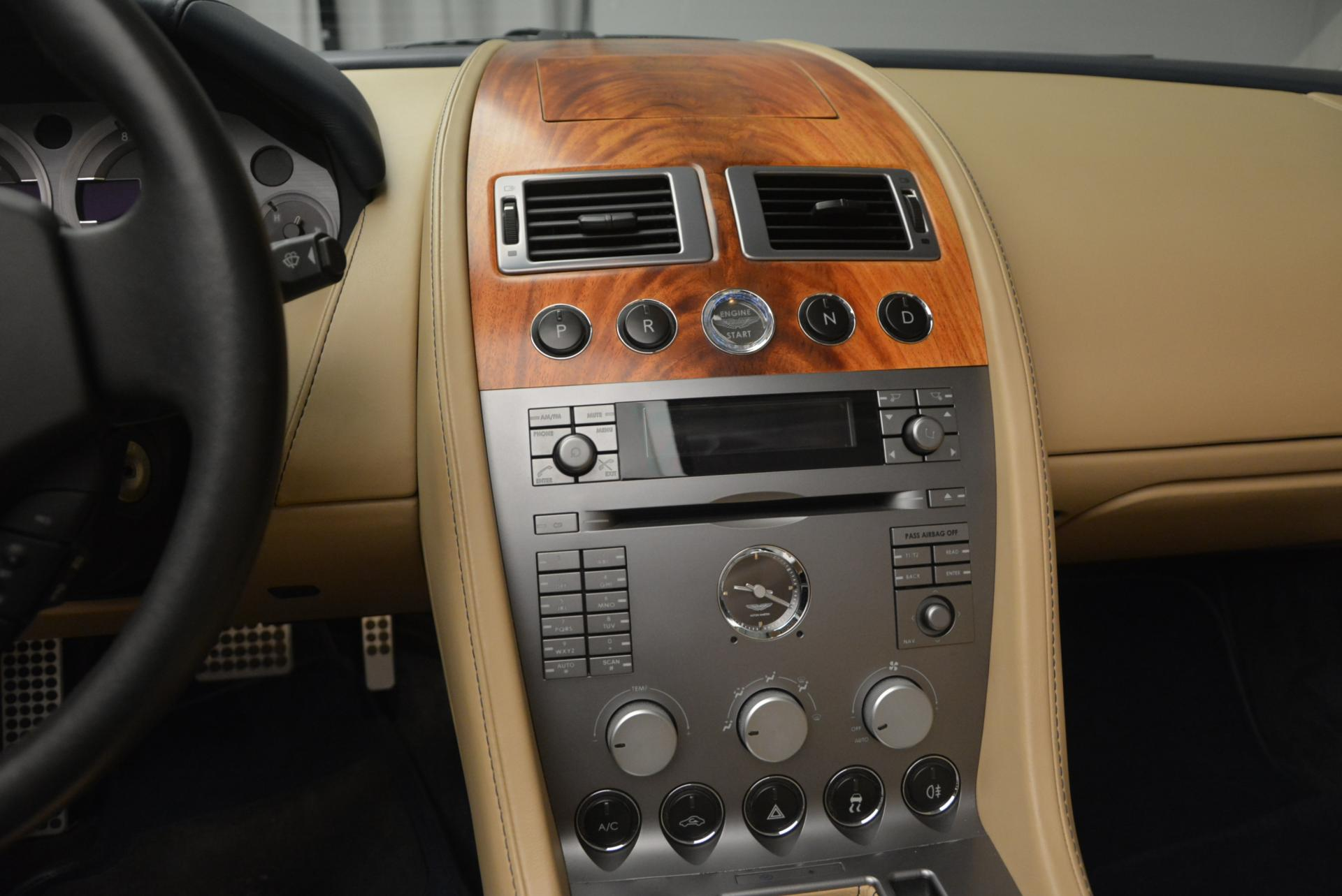 Used 2007 Aston Martin DB9 Volante For Sale In Westport, CT 97_p28