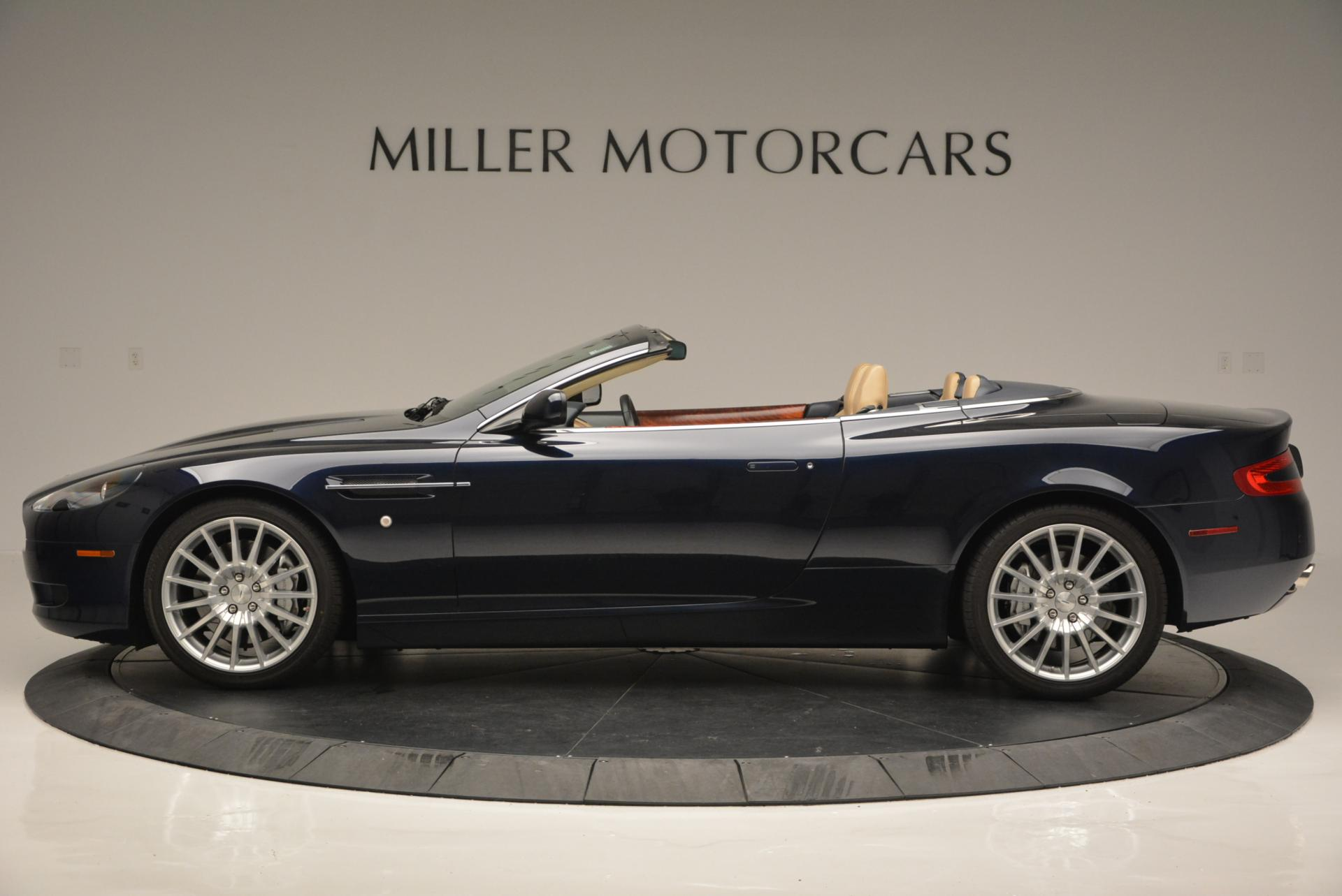 Used 2007 Aston Martin DB9 Volante For Sale In Westport, CT 97_p3