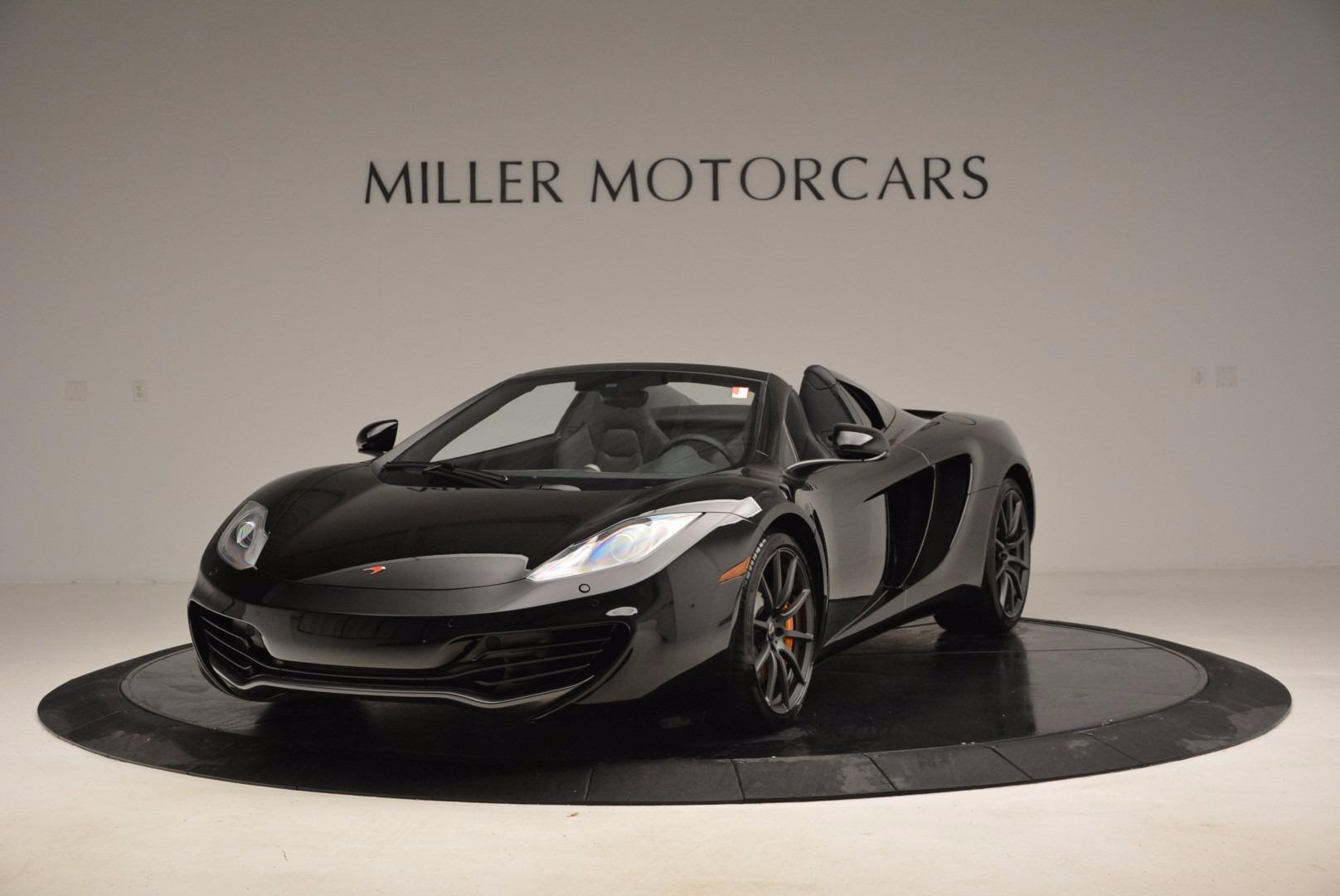 Used 2013 McLaren 12C Spider  For Sale In Westport, CT 973_main