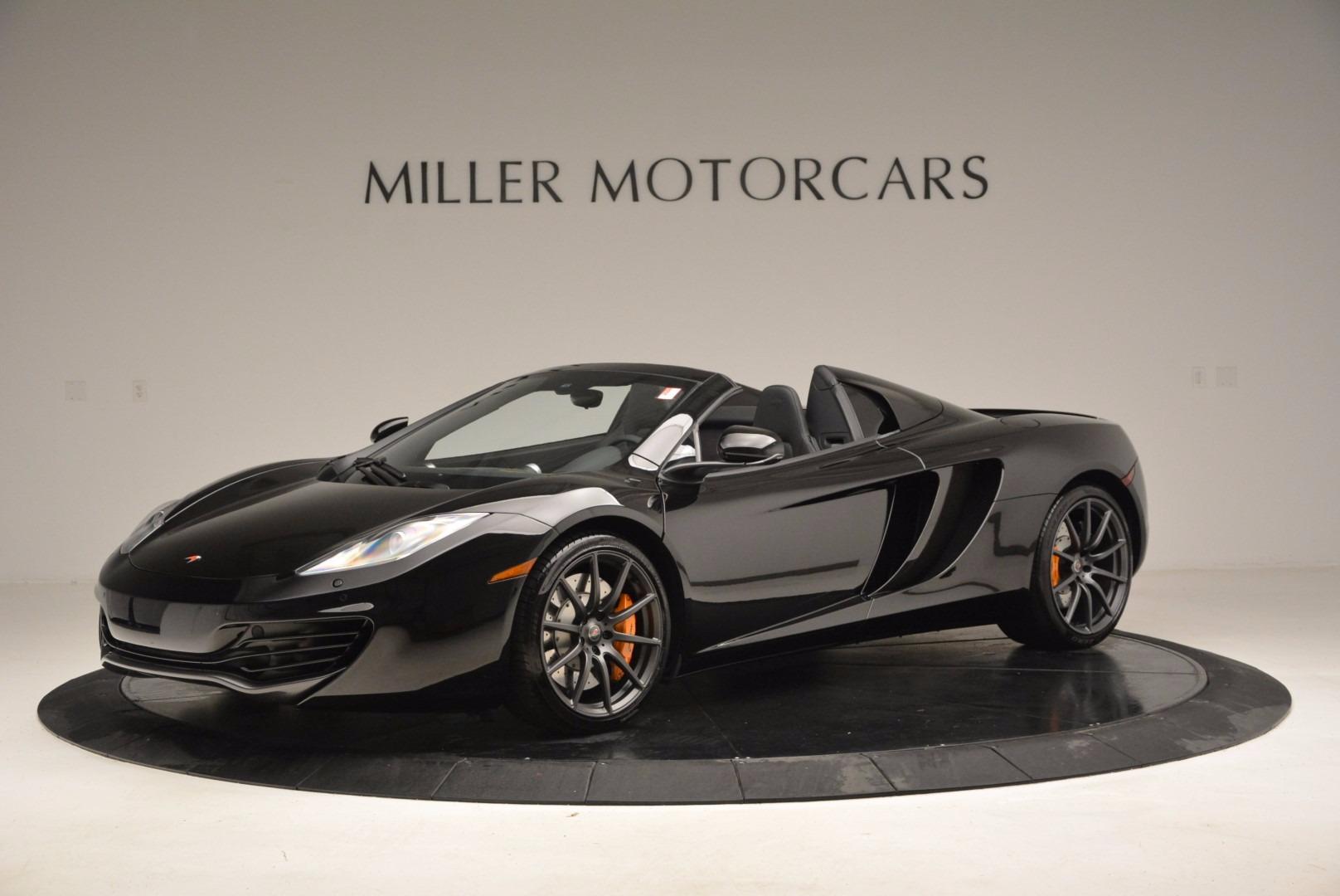 Used 2013 McLaren 12C Spider  For Sale In Westport, CT 973_p2