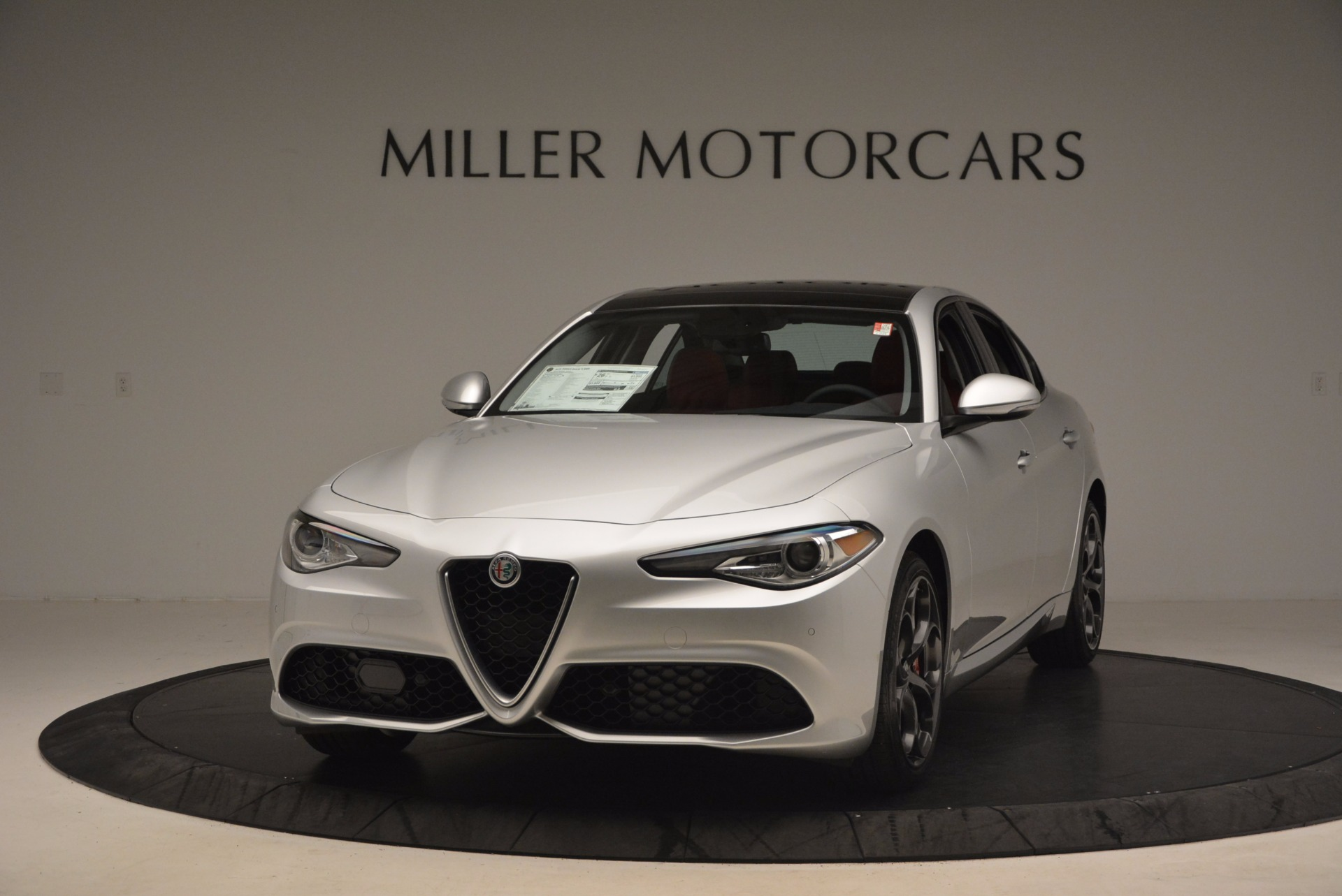 New 2017 Alfa Romeo Giulia Ti Q4 For Sale In Westport, CT 980_p2