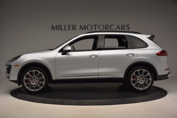 Used 2016 Porsche Cayenne Turbo for sale Sold at Maserati of Westport in Westport CT 06880 3