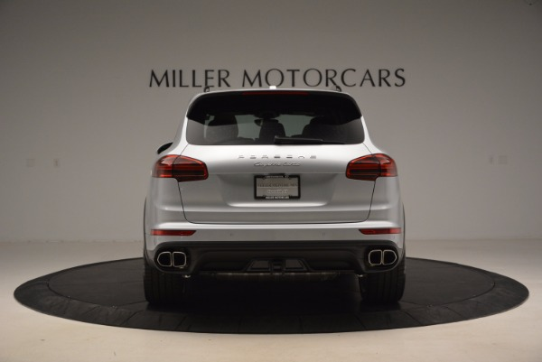 Used 2016 Porsche Cayenne Turbo for sale Sold at Maserati of Westport in Westport CT 06880 6
