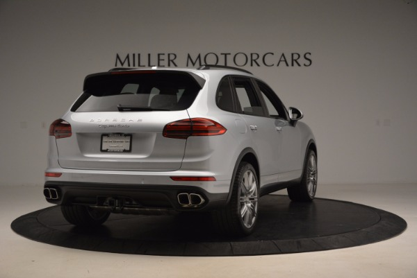 Used 2016 Porsche Cayenne Turbo for sale Sold at Maserati of Westport in Westport CT 06880 7