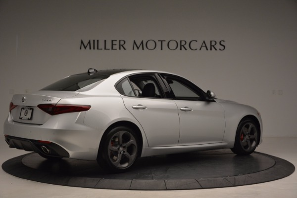 New 2017 Alfa Romeo Giulia Ti Q4 for sale Sold at Maserati of Westport in Westport CT 06880 8