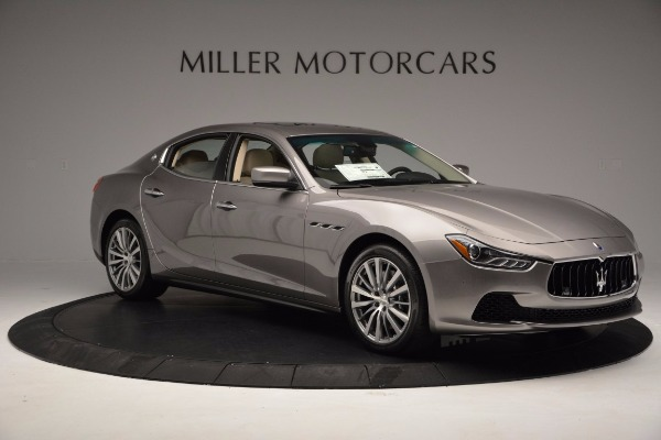 New 2017 Maserati Ghibli S Q4 EX-Loaner for sale Sold at Maserati of Westport in Westport CT 06880 10