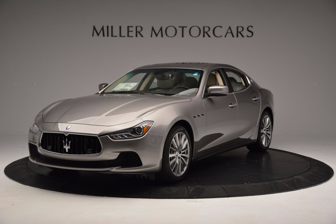New 2017 Maserati Ghibli S Q4 EX-Loaner for sale Sold at Maserati of Westport in Westport CT 06880 1