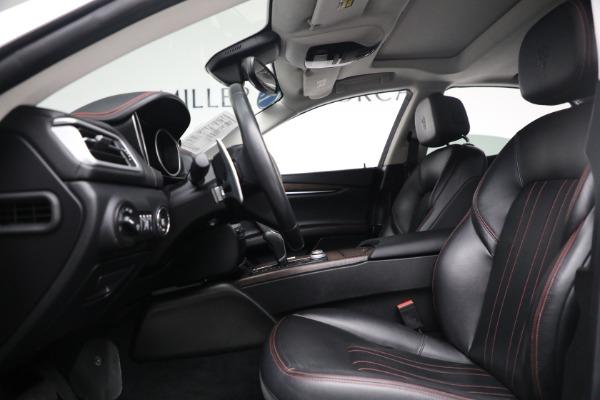 New 2017 Maserati Ghibli S Q4 EX-Loaner for sale Sold at Maserati of Westport in Westport CT 06880 14