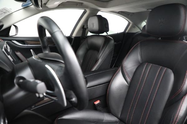 New 2017 Maserati Ghibli S Q4 EX-Loaner for sale Sold at Maserati of Westport in Westport CT 06880 15