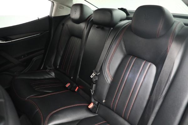 New 2017 Maserati Ghibli S Q4 EX-Loaner for sale Sold at Maserati of Westport in Westport CT 06880 20