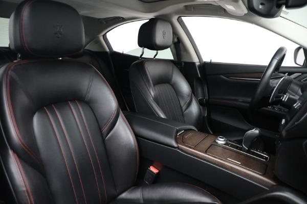 New 2017 Maserati Ghibli S Q4 EX-Loaner for sale Sold at Maserati of Westport in Westport CT 06880 23