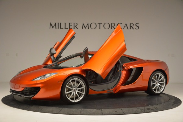 Used 2012 McLaren MP4-12C for sale Sold at Maserati of Westport in Westport CT 06880 14
