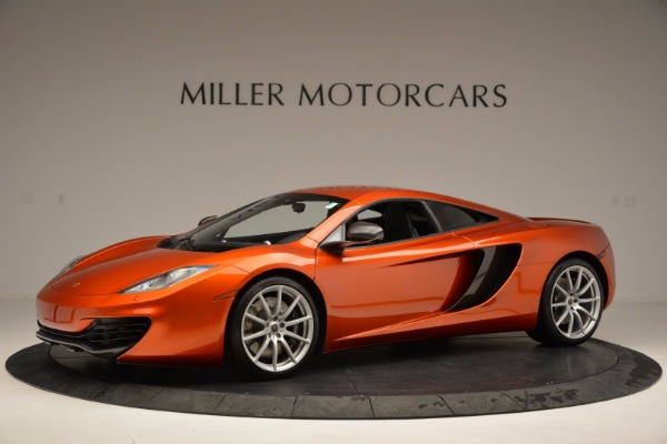 Used 2012 McLaren MP4-12C for sale Sold at Maserati of Westport in Westport CT 06880 2