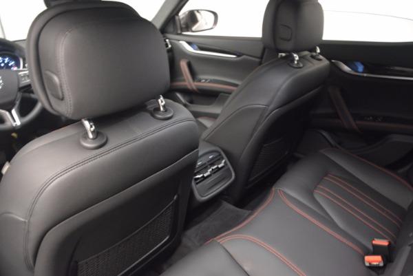 New 2017 Maserati Ghibli SQ4 for sale Sold at Maserati of Westport in Westport CT 06880 17