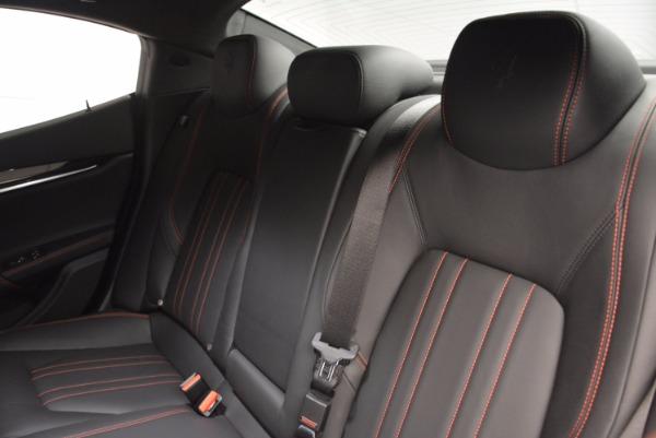 New 2017 Maserati Ghibli SQ4 for sale Sold at Maserati of Westport in Westport CT 06880 19