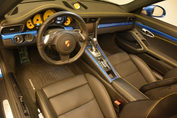 Used 2014 Porsche 911 Turbo S for sale Sold at Maserati of Westport in Westport CT 06880 18
