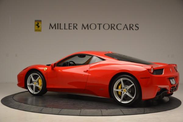 Used 2011 Ferrari 458 Italia for sale Sold at Maserati of Westport in Westport CT 06880 4