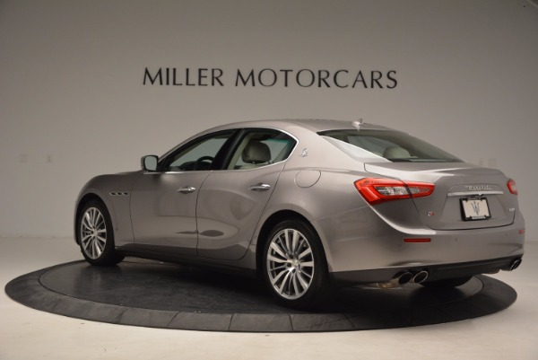 Used 2015 Maserati Ghibli S Q4 for sale Sold at Maserati of Westport in Westport CT 06880 5