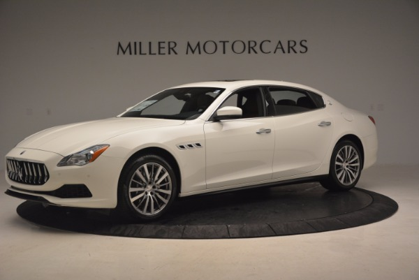 Used 2017 Maserati Quattroporte SQ4 for sale Sold at Maserati of Westport in Westport CT 06880 2