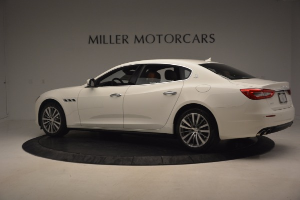 Used 2017 Maserati Quattroporte SQ4 for sale Sold at Maserati of Westport in Westport CT 06880 4