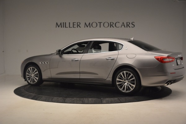 New 2017 Maserati Quattroporte SQ4 for sale Sold at Maserati of Westport in Westport CT 06880 4