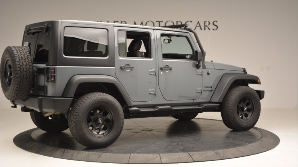 Used 2014 Jeep Wrangler Unlimited Sport for sale Sold at Maserati of Westport in Westport CT 06880 10
