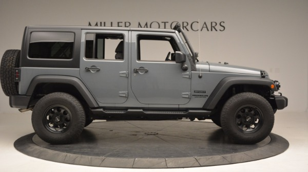 Used 2014 Jeep Wrangler Unlimited Sport for sale Sold at Maserati of Westport in Westport CT 06880 11
