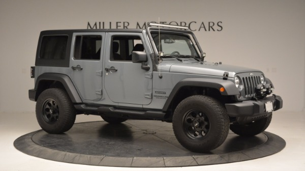 Used 2014 Jeep Wrangler Unlimited Sport for sale Sold at Maserati of Westport in Westport CT 06880 12