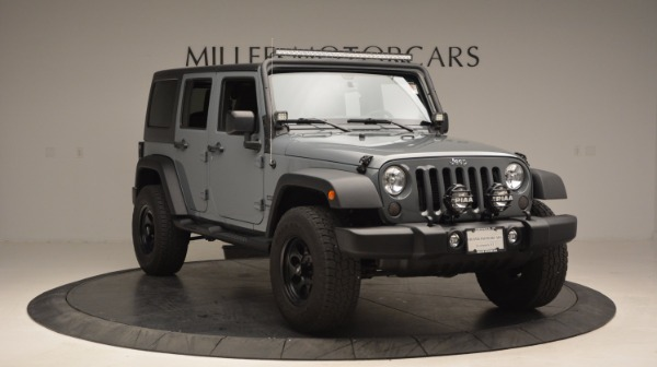 Used 2014 Jeep Wrangler Unlimited Sport for sale Sold at Maserati of Westport in Westport CT 06880 13