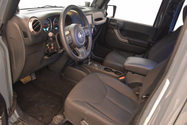 Used 2014 Jeep Wrangler Unlimited Sport for sale Sold at Maserati of Westport in Westport CT 06880 14