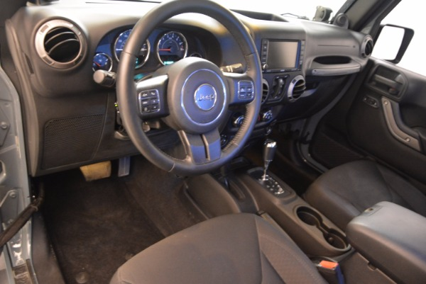 Used 2014 Jeep Wrangler Unlimited Sport for sale Sold at Maserati of Westport in Westport CT 06880 15