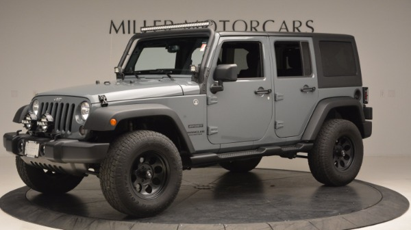 Used 2014 Jeep Wrangler Unlimited Sport for sale Sold at Maserati of Westport in Westport CT 06880 2