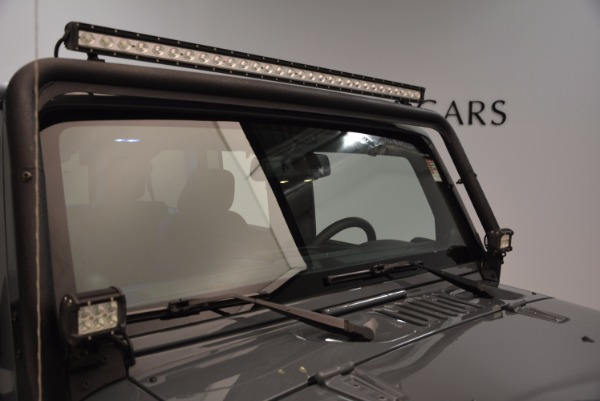 Used 2014 Jeep Wrangler Unlimited Sport for sale Sold at Maserati of Westport in Westport CT 06880 27